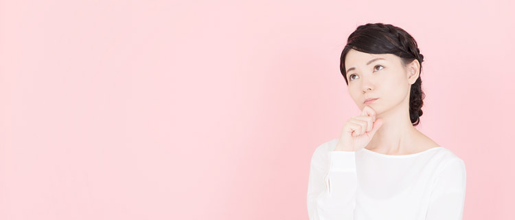 ダイオードレーザー脱毛の特徴を考える女性